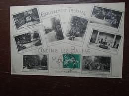 """Carte Assez Rare De 1912 , Camoins Les Bains , Multi-vues """" Marseille """" - Autres"""