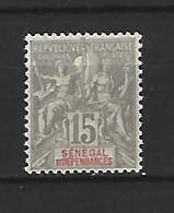 Timbre De Colonies Française Sénégal Neuf * N 23 - Neufs