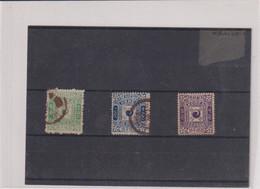 Corée-TPN° 6-7-9-  OB- NSG- TB  1895 - Corée (...-1945)