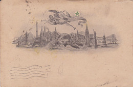 ESPERANTO. CARTE POSTALE CIRCULEE ANNEE 1917, JARAGUA, BRESIL A BAHIA BLANCA, ARGENTINE.- LILHU - Esperanto