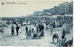 La Panne L'Heure Des Bains Circulée En 1927 - De Panne