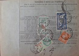R1311/522 - BULLETIN D'EXPEDITION - LOGELNACH (Bas-Rhin) à BOURGES / 19 NOV. 1927 - Cartas