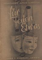 Europa - Luxembourg - Luxemburg - Livres Anciens - FÜR JEDEN ETWAS  -  HANS C. SIKORSKI , LEIPZIG - Old Books