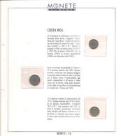 Costa Rica - Monete Del Mondo - Uscita N°74 - 10-25-50 Centimos - Costa Rica