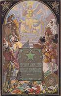SUB LA SANKTA SIGNO DE L'ESPERANTO. CARTE POSTALE CIRCULEE ANNEE 1916, URUGUAY A ARGENTINE.- LILHU - Esperanto