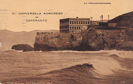 XI UNIVERSALA KONGRESO DE ESPERANTO, LA PROMONTORDOMO. CARTE POSTALE CIRCULEE AN 1917, USA A ARGENTINE.- LILHU - Esperanto