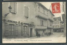 N° 1242 - Charente - RUFFEC. - Maisons Du XVè Siècle Dans La Rue Du Marché.    Daw 2966 - Ruffec