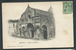 Ruffec  - Façade De L'eglise Daw 2977 - Ruffec