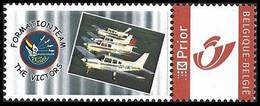 DUOSTAMP / MYSTAMP** - Piper PA-28 Cherokee - Formation Team The Victors - Avion / Vliegtuig / Flugzeug / Plane - Personalisierte Briefmarken