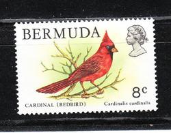 Bermude   -  19798 Cardinale Rosso. Red Cardinal. MNH, Very Fine, Fresh - Mussen