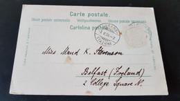 Lugano - Sent To Belfast Ireland - Non Classificati