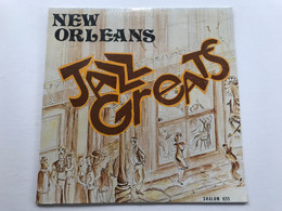 NEW ORLEANS JAZZ GREATS - Various Artists - LP  - US Press - Jazz