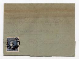 1879. SERBIA, 20 PARA PRINCE MILAN, COVER, KRAGUJEVAC TO BELGRADE - Serbia