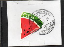 2021 Svizzera - Estate - Fetta Di Anguria - Used Stamps