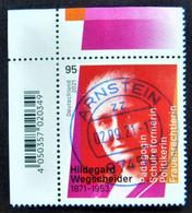 "Bund/BRD September 2021 Sondermarke ""150. Geburtstag H.. Wegscheider"" MiNr 3625, Ecke 1, Ersttagsgestempelt - Gebruikt"