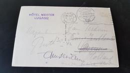 Lugano - Stempel Hotel Meister Lugano - Sin Clasificación