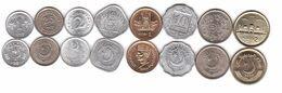 Pakistan - Set 8 Coins 1 2 5 10 25 50 Paisa 1 2 Rupee 1967 - 2005 AUNC Lemberg-Zp - Pakistan