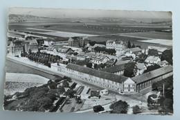 Carte Postale : 78 En Avion Au-dessus De PLAISIR : Maison Départementale Des Petits Prés, Timbre En 1963 - Plaisir
