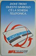 TARJETA TELEFONO DE TELECOM ITALIA 10000 LIRE 1998 TIRADAS UN MILLON - Openbare Reclame