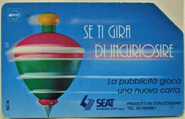 TARJETA TELEFONO  ITALIA 5000 LIRE 1995 - Openbare Reclame