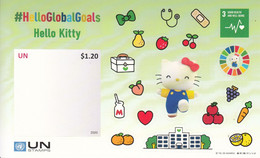 2020 United Nations  Good Health #HelloGlobalGoals Hello Kitty Souvenir Sheet MNH - Unclassified