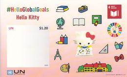 2020 United Nations  Quality Education #HelloGlobalGoals Hello Kitty Comics Mathematics Souvenir Sheet MNH - Comics