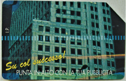 TARJETA TELEFONO DE TELECOM ITALIA 10000 LIRE 1996 - Openbare Reclame