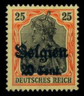 BES 1WK LP BELGIEN Nr 17 Ungebraucht X6D135E - Ocupación 1914 – 18