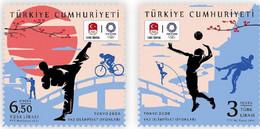 Turkey 2021 Set 2 V MNH TOKYO 2020 SUMMER OLYMPIC GAMES JO - Verano 2020 : Tokio