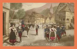 A486 / 015 67 - En Alsace Vive La France - Sin Clasificación