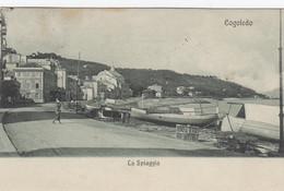 COGOLEDO-GENOVA-LA SPIAGGIA-CARTOLINA  VIAGGIATA IL 5-8-1907 - Genova