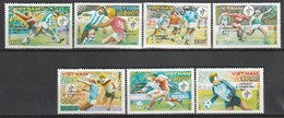 VIETNAM - N°1044/50 ** (1990) Coupe Du Monde De Football - Vietnam