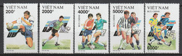 VIETNAM - N°1308/12 ** (1992) Championnat D'Europe De Football - Vietnam