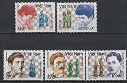 VIETNAM - N°1434/8 ** (1994) ECHECS - Vietnam
