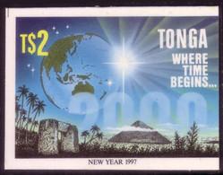 Tonga Cromalin Proof 1996 Year 2000 Milennium - Space, Pyramid Egypt - Map Globe - 5 Exist, Read Description - Oceania
