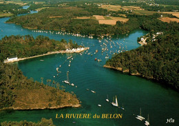 CPM - RIEC S/BELON - Vue Aérienne De La Rivière ...Edition Y.R.Caoudal - Otros Municipios