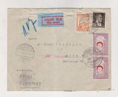TURKEY 1932 ISTAMBUL GALATA Nice Airmail Cover To Austria - Brieven En Documenten