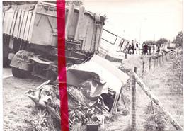 Foto Persfoto - Reties Heiken Kasterlee - Zwaar Verkeersongeval , Slachtoffer Eric VH - 13 Aug 1981 - Sin Clasificación
