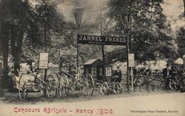 88 MARTINVELLE  CPA   Jannel Freres Au Concours Agricole - Nancy 1906 - Sonstige Gemeinden