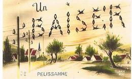 13  UN BAISER  DE PELISSANNE    CPM  TBE   856 - Pelissanne