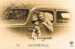 12  UN BONJOUR  DE  DECAZEVILLE    CPM  TBE   868 - Decazeville