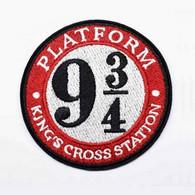 1 Écusson Brodé Thermocollant NEUF ( Patch ) - Harry Potter Platform 9 3/4 King's Cross Station - Scudetti In Tela