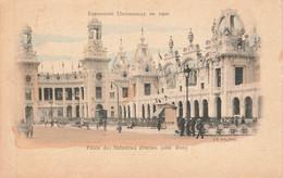 PARIS : EXPOSITION UNIVERSELLE DE 1900 - PALAIS DES INDUSTRIES DIVERSES - Expositions