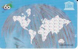 AND-155 TARJETA DE ANDORRA DE LA UNESCO DEL 02/07 TIRADA 10000 - Andorra