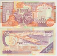 Somalia 1000 Shillings 1990 Pick R10 UNC - Somalia