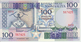 Somalia 100 Shillings 1987 Pick 35b UNC - Somalia