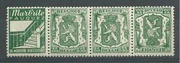 EVBB - Belgique - België - Belgien - Belgium - COB - OBP - PUc 87A + 87B - ** MNH - Pub Pour Marbrite Fauquez (Néerl.) - Publicités