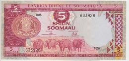 Somalia 5 Shillings 1978 Pick 21 UNC - Somalia