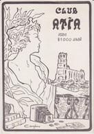 ALBI - Carte De Membre Du Club ATIA  1979  - MJC 81000 ALBI - Beursen Voor Verzamellars