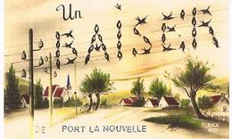11  UN BAISER  DE  PORT  DE LA NOUVELLE   CPM  TBE   877 - Port La Nouvelle